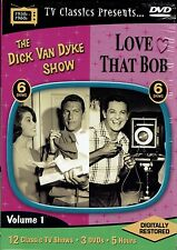 DVD - box set - The Dick Van Dyke Show with Love That Bob - 12 shows total