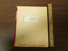 Alfred Microwave Oscillator 605 Series Manual