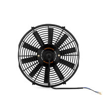 "Mishimoto 14"" Slim Line Electric 12v Fan - Push or Pull - Black"