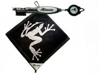 Authentic Frogger Amphibian Towel & Brushpro (black) + Free Champ Tees