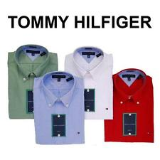 NWT TOMMY HILFIGER MEN BUSINESS SHIRT OXFORD SUIT CASUAL REGULAR SLIM FIT ~SIZES