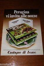 AE19=1972=PERUGINA CASTAGNE DI BOSCO CIOCCOLATO=PUBBLICITA'=ADVERTISING=WERBUNG=