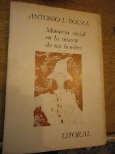 Litoral A.L. Bouza  presenta Memoria social en la muerte de un hombre N°112/114
