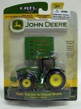 1/64 ERTL John Deere 7920 Tractor with decal sheet