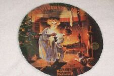 Vintage Series Collectible Plate Norman Rockwell Christmas 1979