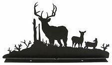 Buck Deer Wildlife Mailbox Topper Decor Front View
