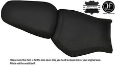 DESIGN 2 GRIP BLACK ST CUSTOM FITS YAMAHA MT 03 06-14 FRONT + REAR SEAT COVER