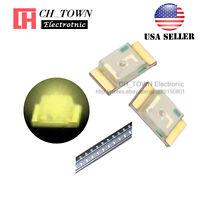 100PCS 1206 (3216) Warm White Light SMD SMT LED Diodes Emitting Ultra Bright USA