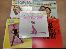 Vintage broadway Vinyl Record Soundtrack lp Pink Panther Damn Yankees lot of 5
