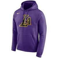 Nike 2018-2019 Los Angeles Lakers City Edition Essential Logo Hoodie Sweatshirt