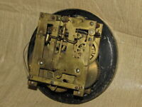 Vintage Mauthe German Wall Clock Movement with Dial