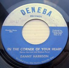 DANNY HARRISON private country 45 IN THE CORNER OF YOUR HEART DON'T CHEAT  F1066