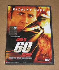 FUORI IN 60 SECONDI (con NICOLAS CAGE e ANGELINA JOLIE) - DVD FILM