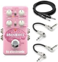 New TC Electronic Brainwaves Pitch Shifter Guitar Effects Pedal w/ Cables