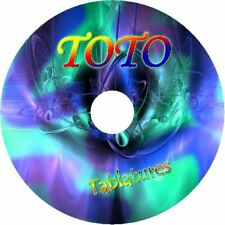 TOTO PIANO BASS & GUITAR TAB CD TABLATURE BEST OF GREATEST HITS ROCK MUSIC SONG