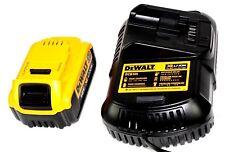 DEWALT 18V XR BATTERY + 240V DEWALT DCB105 10.8-18V  CHARGER **EX-DISPLAY**NEW C