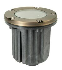 Brass Low Voltage Led Well Light-Landscape Lighting with Led Bulb Included