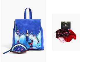 Danielle Nicole Disney Mulan For Honor Mini Backpack - Bonus Floral scrunchie