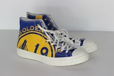 Converse Chuck Taylor All Star NBA Golden State Warriors Gameday Shoes Size 11