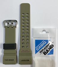 CASIO Original G-Shock Band Mudmaster GG-1000-1A5 GG-1000 Brown Strap GG1000