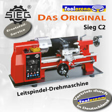 Metalldrehmaschine Drehbank C2/300 Sieg Machines NEU vom Rotwerk-Fachhändler