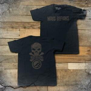 Shoyoroll x Nous Defions Black/White/Blue T Shirt ***Brand New***