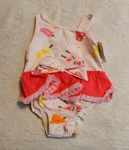 Mud Pie Baby Girl  Summer  Flamingo Swim Hat Size 6-18 Months NEW