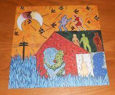 Tom Tom Club Dark Sneak Love Action Poster Flat 1992 Promo 12x12 Talking Heads