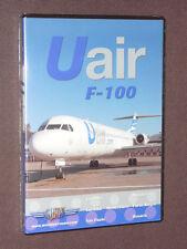 JUST PLANES COCKPIT VIDEO DVD            Uair  Uruguay  F-100       new & sealed