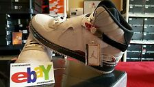 Nike Air Jordan AJF 8 Retro Fusion 1/20/09 WHT/BLK-VRSTY RD-NTRL GRY 384522 101