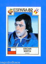SPAGNA ESPANA '82 -Panini-Figurina-Sticker n. 163 - WIRTH - CILE -Rec