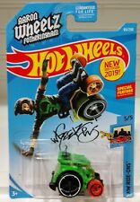 Wheelie Chair Wheel Aaron Wheelz 2019 Green 65 5 Hw Hot Wheels