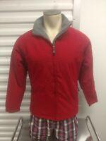 Men's Small Red Storm Creek Fleece Lined Winter Jacket Polyester/Nylon Blend