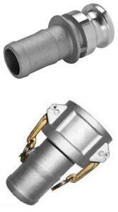 Camlock 2 inch BSP Set | Type C E | Aluminium | 50mm | Fire Pump hose