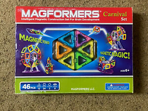 Magformers Magnetic Carnival Set 46-Piece Multicolor Kids Toy