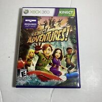 Kinect Adventures (Microsoft Xbox 360, 2010) Complete Video Game Free Ship