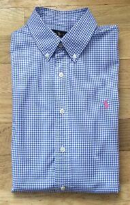 RALPH LAUREN Men's Long Sleeve Button Down Dress Shirt size L