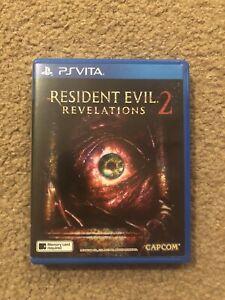 Resident Evil 2 Revelations English Ps PlayStation Vita Game RARE