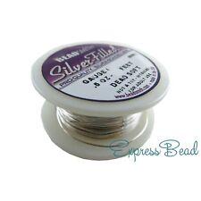 Bead Smith Silver-Filled Dead Soft/Half Hard Round Wire 18-20-22-24-26-28 gauge