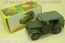 DINKY TOYS FRANCE. DODGE COMMAND CAR. + boite (complet)  REF. 810.