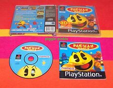 PS1  Game  PAC-MAN WORLD 3D  Very Good Condition Complete Psone uk  Pal