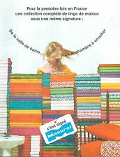 ▬► PUBLICITE ADVERTISING AD Linge de Maison Albert MASUREL 1967 4 pages