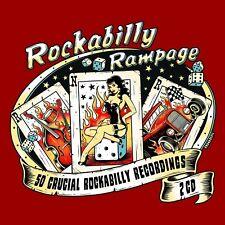 ROCKABILLY RAMPAGE 2 CD (BUCK GRIFFIN, LEW WILLIAMS, RAY HARRIS, ...) NEU