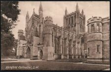 Postcard - Herefordshire - Hereford, Cathedral, S.W.