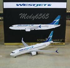 "Gemini Jets West Jet ""Canada"" Boeing B737 MAX 8 1/200"