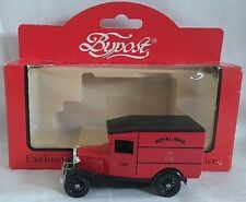 LLEDO BYPOST 1934 FORD MODEL A VAN ROYAL MAIL DIECAST BOXED