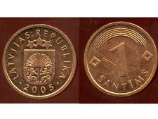 LETTONIE  1 santims  2005  ( bis )
