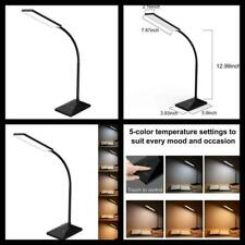 Dimmable Led Desk Lamp Office Table Work Study Light with Usb Charging Port New