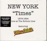 FLO & EDDIE New York Times Live at The Bottom Line | 2CD Neuware | TURTLES ZAPPA