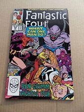 Fantastic Four  328  . Frightful four / Dragon Man  App .Marvel 1989 - VF